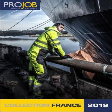 CATALOGUE - PROJOB - VÊTEMENT PROFESSIONNEL - 2019